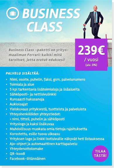 Business Class - kaikki mitä tarvitset jotta erotut eduksesi
